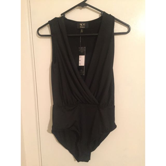 Brand New Black Bodysuit