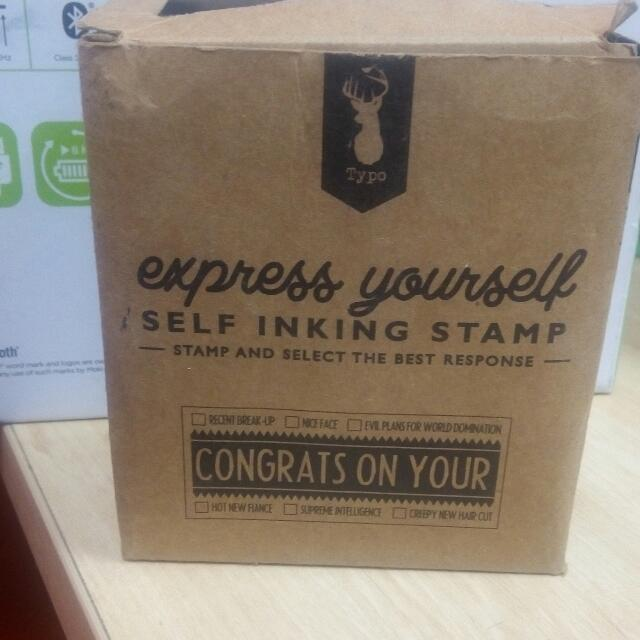 Express Yourself Stamp