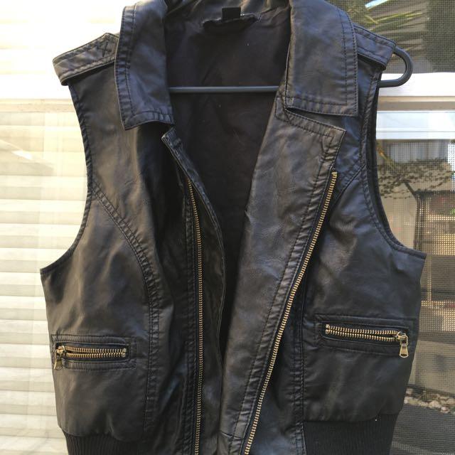 Forever 21 Leather Vest