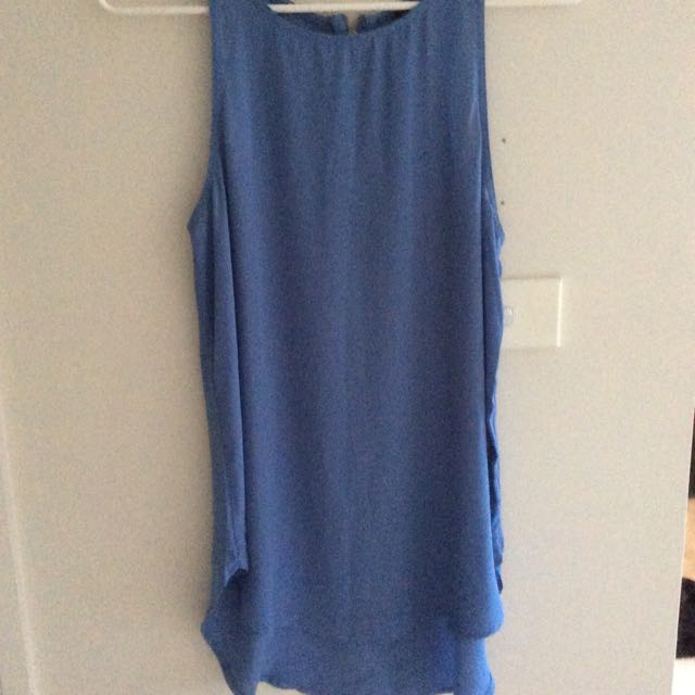 Glassons Blue Long Top