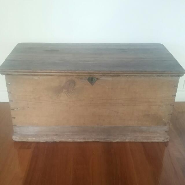 Gorgeous Wooden Storage Chest