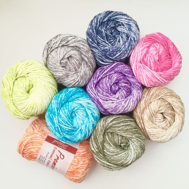 IN STOCK: Premier Cotton Yarns