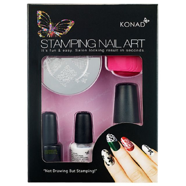 Konad Stamping Nail Art T Set + 1 image plate of your choice!