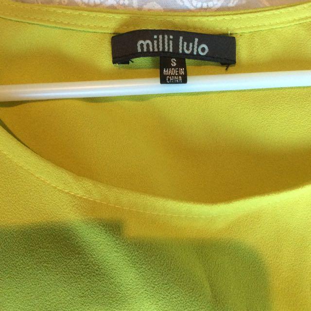 Lime Shirt
