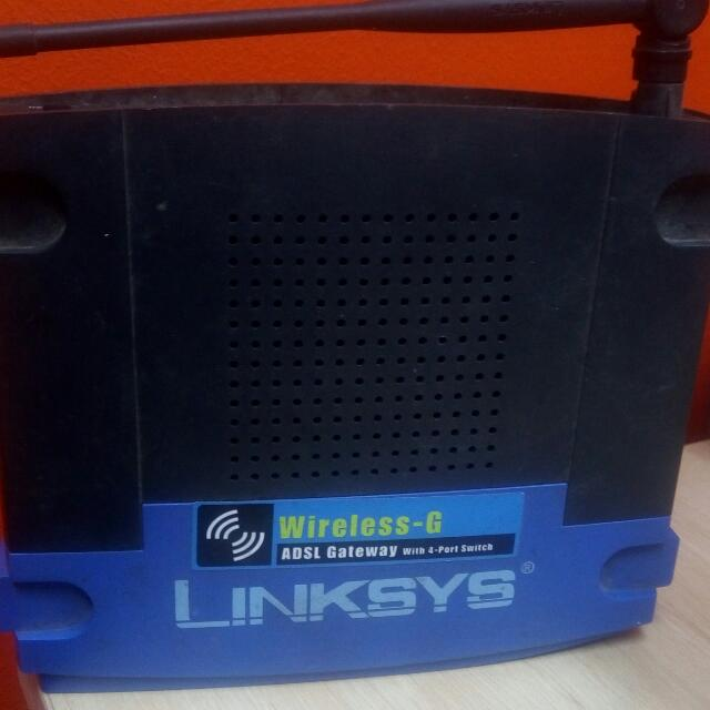 Linksys Wireless G Router No Power Adapter