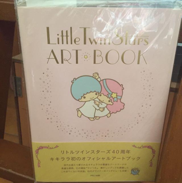 (已保留)Little Twin Stars 40週年可愛公式完全讀本 KikiLala