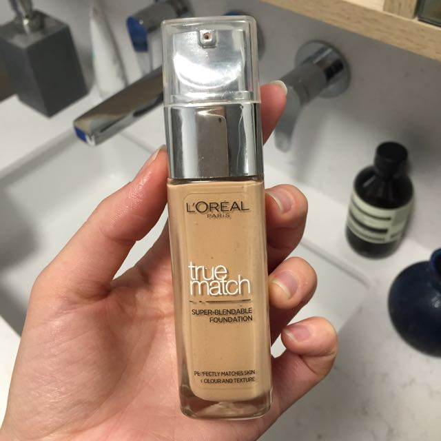 Lorèal True Match Foundation