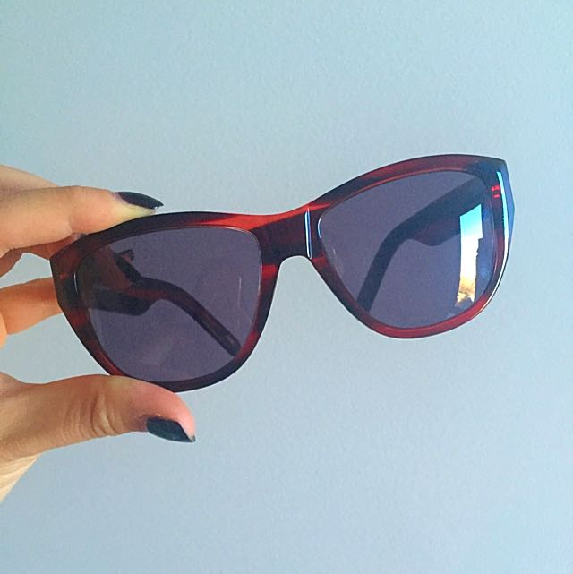 Mimco Cat Eye Acetate Sunglasses