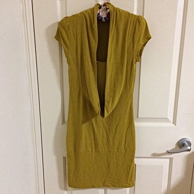 New Butterscotch Winter Dress