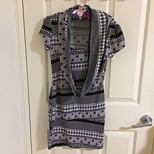 New Patterned Winter Dress