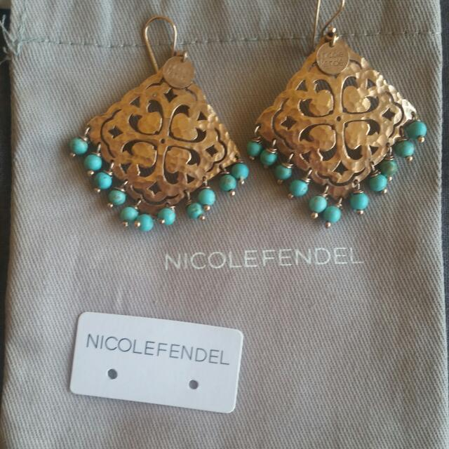Nicole Fendel Earrings R.R.P $149.00