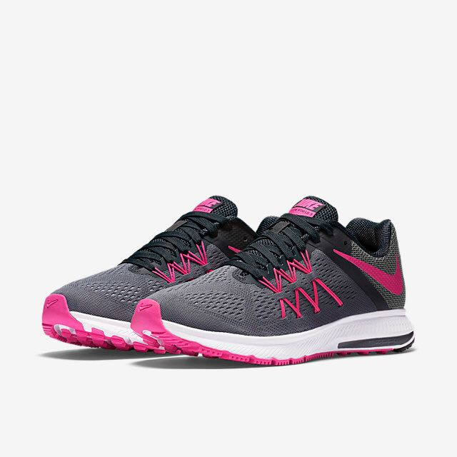 finest selection 4e1d0 2a46d Nike Zoom Winflo 3 (Women) - Cool Grey/Anthracite/Wolf Grey/Pink Blast