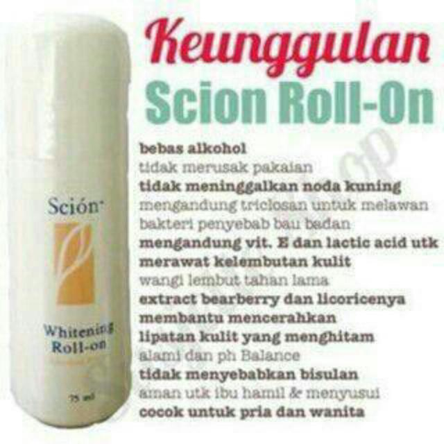 Nu Skin Scion Whitening Roll On