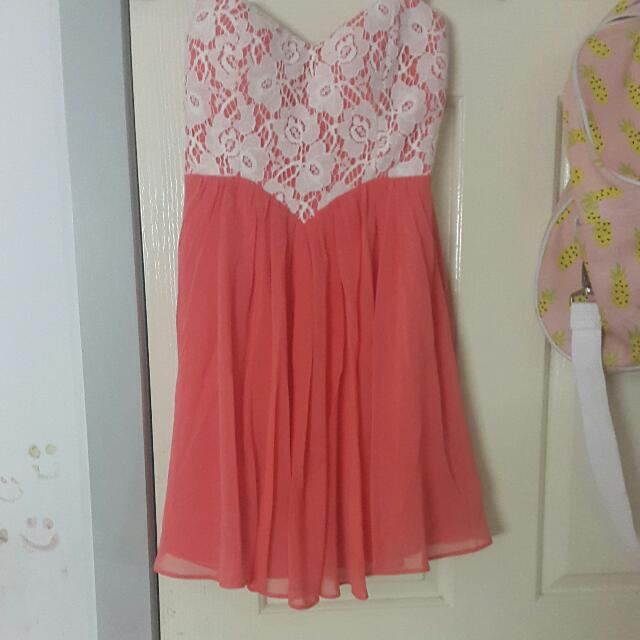 Peachy Love Heart Dress