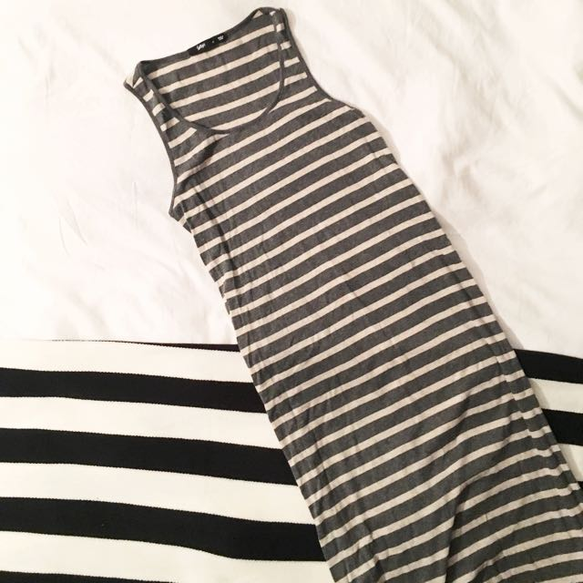 Sportsgirl Stripped Maxi Dress