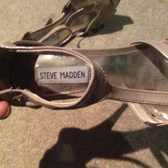 Steve Madden Tan Heel