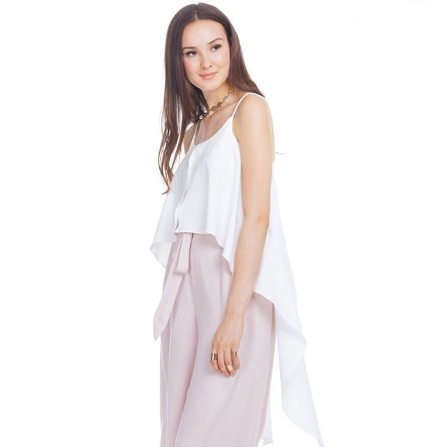 TCL Byron Top in White
