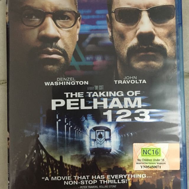 The Taking Of Pelham 123 Blu Ray