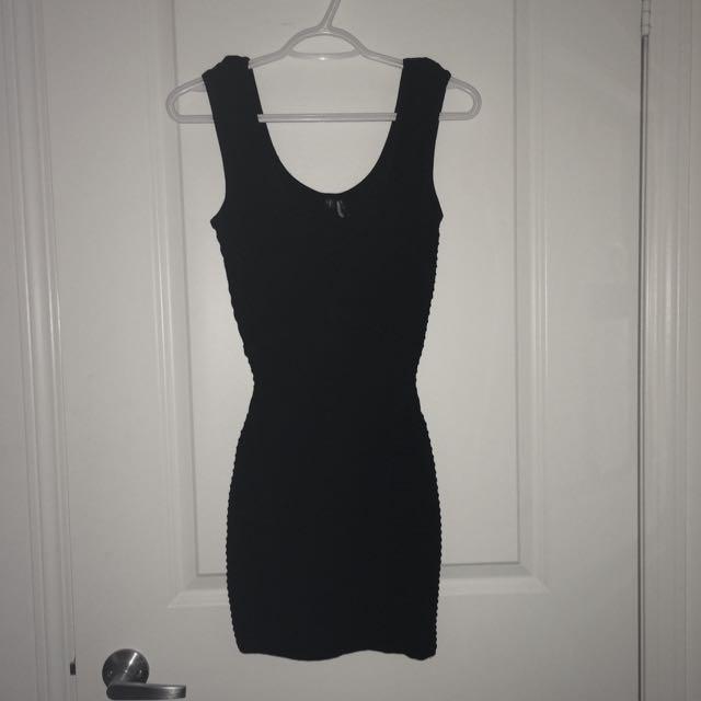 XS-Marciano.black.bandage*dress