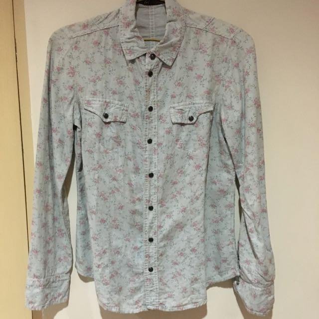 Zara Long Sleeved Shirt
