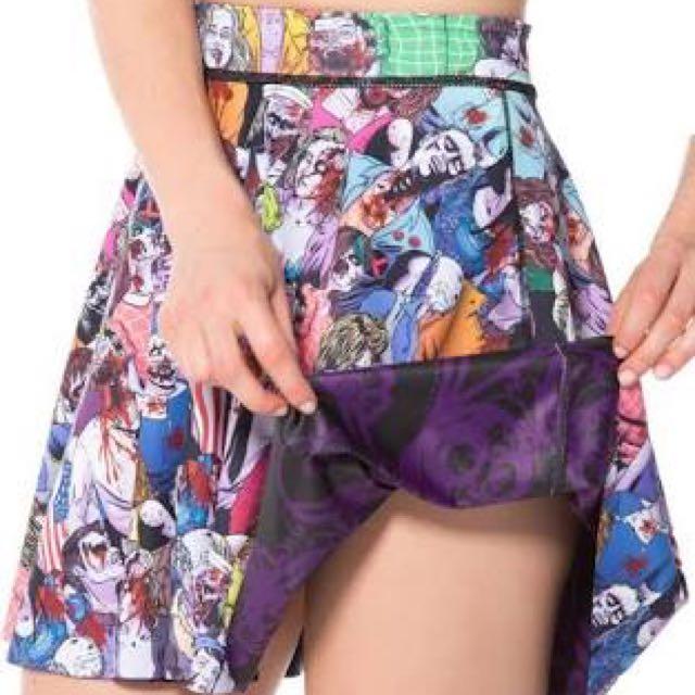 Zombie Nation Vs Plum Bath Inside Out Skirt