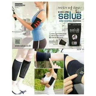 韓國2016Let's slim 新款Salua溶脂顆粒專利瘦手臂套也可當瘦小腿套