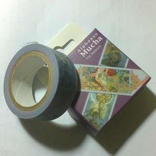 R-tape 慕夏四季星月款紙膠帶
