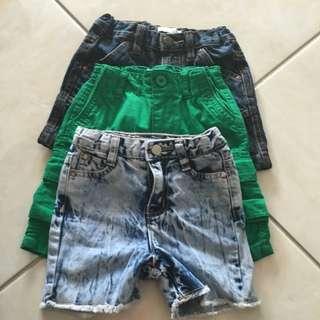 Pumpkin Patch Shorts Fit Sz 2 Mint Cond