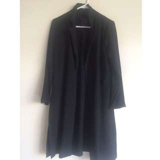 Black Light Overcoat, Size XS