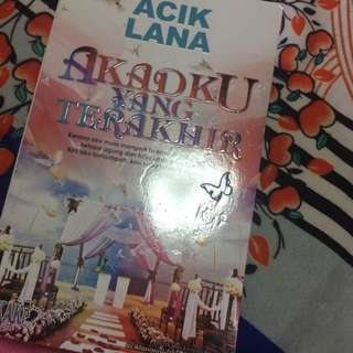 Malay Novel ( Sold )