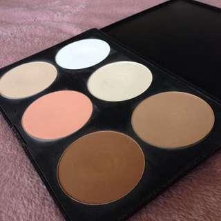 Blank Canvas Cosmetics Contour Palette