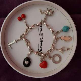 Thomas Sabo Bracelet And Charms