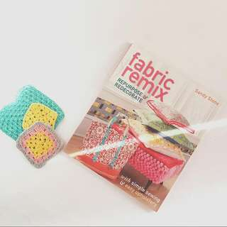 Fabric Remix - Repurpose and Decorate By Sandy Stone