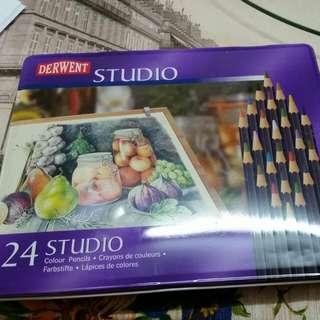 Derwent - Studio - 24 Colouring Pencils