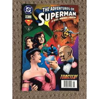 The adventures of Superman 1996 comic