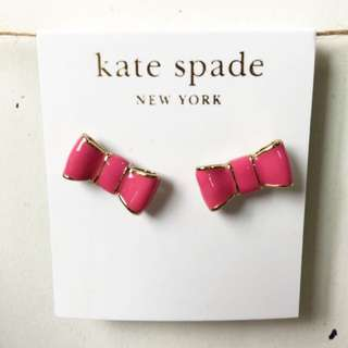 Kate Spade Bow/Ribbon Ear Studs