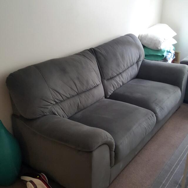 13 Months Old 3 Seater And 2 Seater Lounge Set