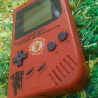 Manchester United. Nintendo Gameboy DMG-01 PIL LIMITED Ed.