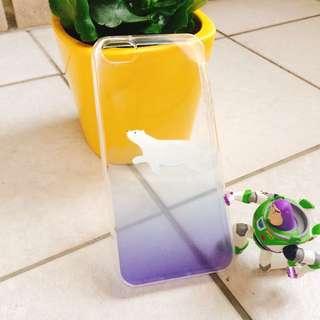 (免運現貨出清)iPhone5/5s北極熊手機殼🐻