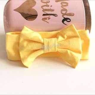 Handmade Cotton Baby Headband