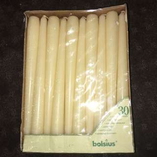 30 Pack Of Taper Candles