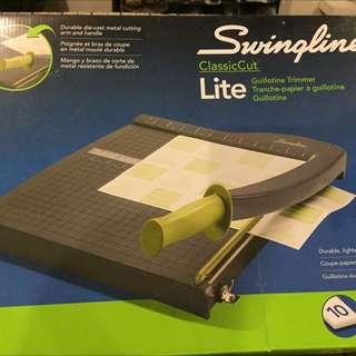 Swingline Paper Trimmer 12 Inch, 10 Sheets Capacity