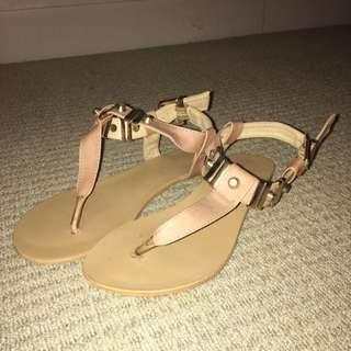 Billini Nude Sandals