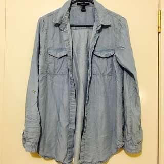 Light Blue Denim Outwear