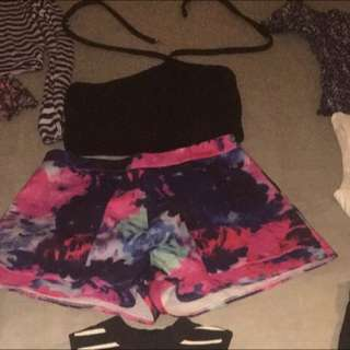 Crop And Shorts Size M Each