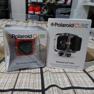 Polaroid Cube Action Camera Package (Red)