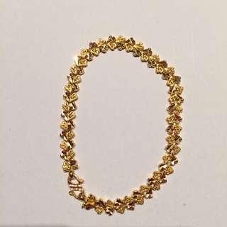 22ct real Gold Bracelet
