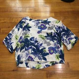Top Shop Floral Topin Uk6