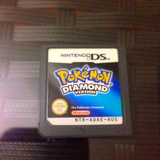 Pokemon Diamond (Highest Offer: $25)