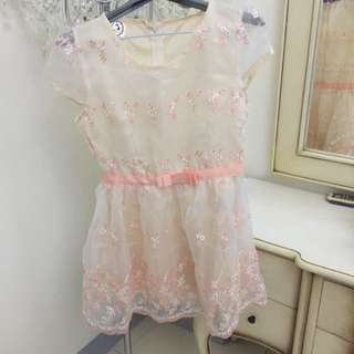 歐根紗小洋裝